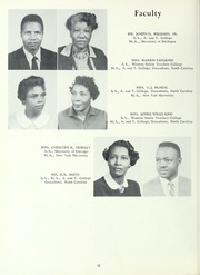 Carver High School - Memories Yearbook (Winston Salem, NC) online yearbook collection, 1962 Edition, Page 16