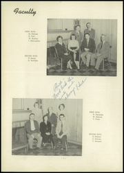 Cassadaga Valley High School - Valley View Yearbook (Sinclairville, NY) online yearbook collection, 1953 Edition, Page 12
