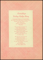 Cassadaga Valley High School - Valley View Yearbook (Sinclairville, NY) online yearbook collection, 1953 Edition, Page 3