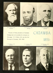 Catawba College - Sayakini / Swastika Yearbook (Salisbury, NC) online yearbook collection, 1951 Edition, Page 10