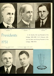 Catawba College - Sayakini / Swastika Yearbook (Salisbury, NC) online yearbook collection, 1951 Edition, Page 11