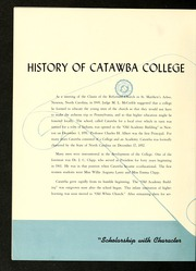 Catawba College - Sayakini / Swastika Yearbook (Salisbury, NC) online yearbook collection, 1951 Edition, Page 12 of 144