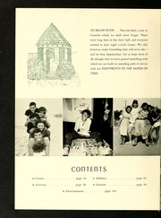 Catawba College - Sayakini / Swastika Yearbook (Salisbury, NC) online yearbook collection, 1952 Edition, Page 8
