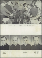 Cathedral High School - Cathedran Yearbook (Indianapolis, IN) online yearbook collection, 1951 Edition, Page 12 of 164