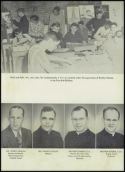 Cathedral High School - Cathedran Yearbook (Indianapolis, IN) online yearbook collection, 1951 Edition, Page 13