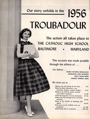 Catholic High School of Baltimore - Troubadour Yearbook (Baltimore, MD) online yearbook collection, 1956 Edition, Page 6 of 148