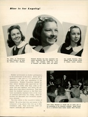 Catholic High School For Girls - Silver Sands Yearbook (Philadelphia, PA) online yearbook collection, 1943 Edition, Page 50 of 138