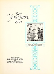 Centenary College of Louisiana - Yoncopin Yearbook (Shreveport, LA) online yearbook collection, 1928 Edition, Page 11 of 312