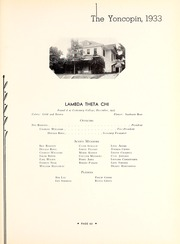 Centenary College of Louisiana - Yoncopin Yearbook (Shreveport, LA) online yearbook collection, 1933 Edition, Page 165