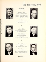Centenary College of Louisiana - Yoncopin Yearbook (Shreveport, LA) online yearbook collection, 1933 Edition, Page 33