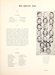 Centenary College of Louisiana - Yoncopin Yearbook (Shreveport, LA) online yearbook collection, 1937 Edition, Page 73