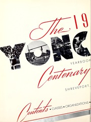 Centenary College of Louisiana - Yoncopin Yearbook (Shreveport, LA) online yearbook collection, 1939 Edition, Page 6