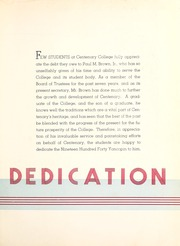Centenary College of Louisiana - Yoncopin Yearbook (Shreveport, LA) online yearbook collection, 1940 Edition, Page 11