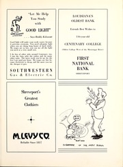 Centenary College of Louisiana - Yoncopin Yearbook (Shreveport, LA) online yearbook collection, 1940 Edition, Page 179