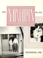 Centenary College of Louisiana - Yoncopin Yearbook (Shreveport, LA) online yearbook collection, 1951 Edition, Page 6 of 180