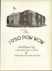 Centerville High School - Elkonian Yearbook (Centerville, OH) online yearbook collection, 1950 Edition, Page 7