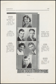 Centerville Senior High School - Mortonian Yearbook (Centerville, IN) online yearbook collection, 1936 Edition, Page 17