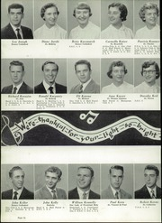 Central Catholic High School - Centripetal Yearbook (Toledo, OH) online yearbook collection, 1954 Edition, Page 40 of 192