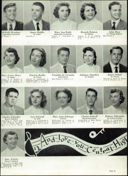 Central Catholic High School - Centripetal Yearbook (Toledo, OH) online yearbook collection, 1954 Edition, Page 49