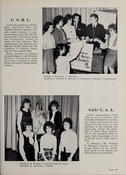 Central Catholic High School - Centripetal Yearbook (Toledo, OH) online yearbook collection, 1963 Edition, Page 131