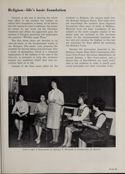 Central Catholic High School - Centripetal Yearbook (Toledo, OH) online yearbook collection, 1963 Edition, Page 73