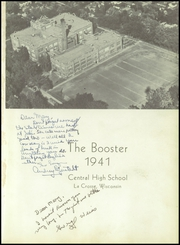 Central High School - Booster Yearbook (La Crosse, WI) online yearbook collection, 1941 Edition, Page 5