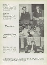 Central High School - Booster Yearbook (La Crosse, WI) online yearbook collection, 1950 Edition, Page 15