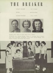 Central High School - Breaker Yearbook (Elizabeth City, NC) online yearbook collection, 1952 Edition, Page 43