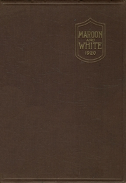Central High School - Maroon and White Yearbook (Sioux City, IA) online yearbook collection, 1920 Edition, Page 1