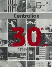 Central High School - Centralian Yearbook (Phoenix, AZ) online yearbook collection, 1988 Edition, Cover