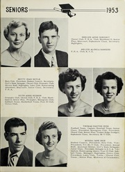 Chase City High School - Mirror Yearbook (Chase City, VA) online yearbook collection, 1953 Edition, Page 13 of 64