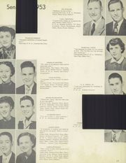 Chillicothe High School - Cresset Yearbook (Chillicothe, MO) online yearbook collection, 1953 Edition, Page 21