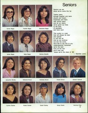 Chinle High School Tse Yi Yearbook Chinle Az Class Of 1983
