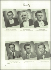 Christian Brothers College High School - Guidon Yearbook (St Louis, MO) online yearbook collection, 1954 Edition, Page 12