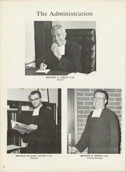 Christian Brothers High School - Chronicle Yearbook (Memphis, TN) online yearbook collection, 1969 Edition, Page 12
