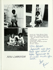 Clairbourn Middle School - Clairbourn Yearbook (San Gabriel, CA) online yearbook collection, 1981 Edition, Page 7 of 160