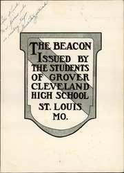 Cleveland High School Beacon Yearbook St Louis Mo