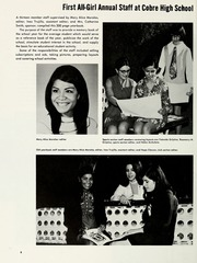 Cobre High School - Chieftain Yearbook (Bayard, NM) online yearbook collection, 1971 Edition, Page 12