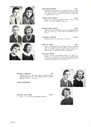 Coldwater High School - Cardinal Yearbook (Coldwater, MI) online yearbook collection, 1955 Edition, Page 36