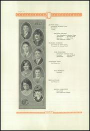 Coldwater High School - Eagle Yearbook (Coldwater, KS) online yearbook collection, 1927 Edition, Page 14 of 66