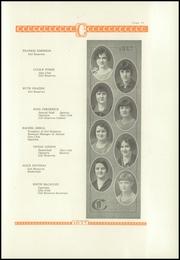 Coldwater High School - Eagle Yearbook (Coldwater, KS) online yearbook collection, 1927 Edition, Page 15