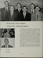 College of William and Mary - Colonial Echo Yearbook (Williamsburg, VA) online yearbook collection, 1962 Edition, Page 216