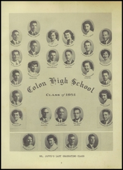 Colon High School - Magi Yearbook (Colon, MI) online yearbook collection, 1952 Edition, Page 5
