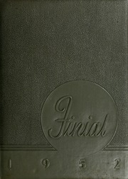 Columbia Bible College - Finial Yearbook (Columbia, SC) online yearbook collection, 1952 Edition, Page 1