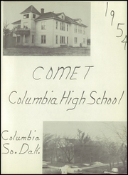 Columbia High School - Comet Yearbook (Columbia, SD) online yearbook collection, 1954 Edition, Page 5 of 40