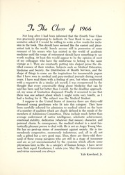 Page 11, 1966 Edition, Columbia University College of Physicians and Surgeons - P and S Yearbook (New York, NY) online yearbook collection
