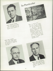 Concordia Preparatory - Concordian Yearbook (Bronxville, NY) online yearbook collection, 1950 Edition, Page 12
