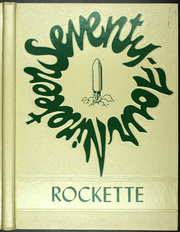 Conotton Valley High School - Rockette Yearbook (Bowerston, OH) online yearbook collection, 1974 Edition, Cover