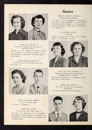 Corinth Holders High School - Corinthian Yearbook (Zebulon, NC) online yearbook collection, 1951 Edition, Page 14