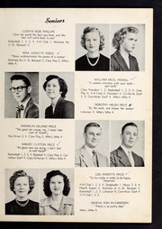 Corinth Holders High School - Corinthian Yearbook (Zebulon, NC) online yearbook collection, 1951 Edition, Page 15 of 64